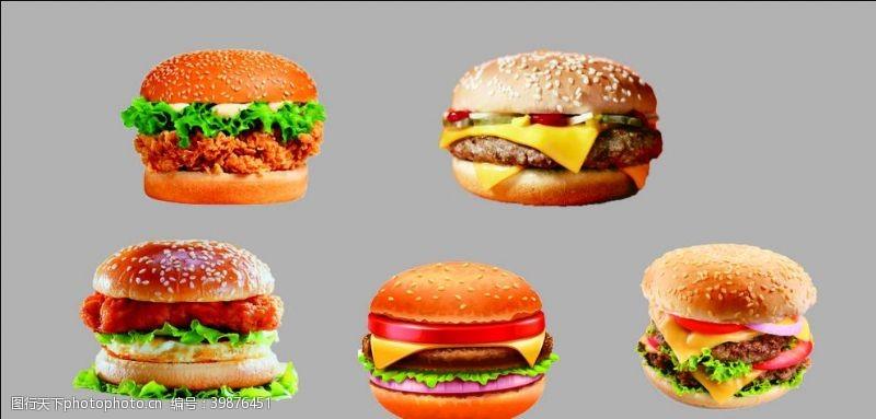 挂画汉堡图片