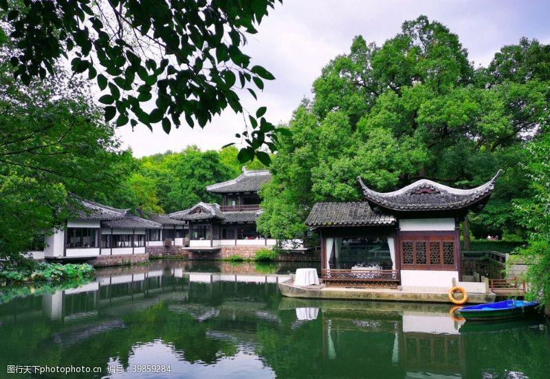 岳飞杭州西湖小景图片