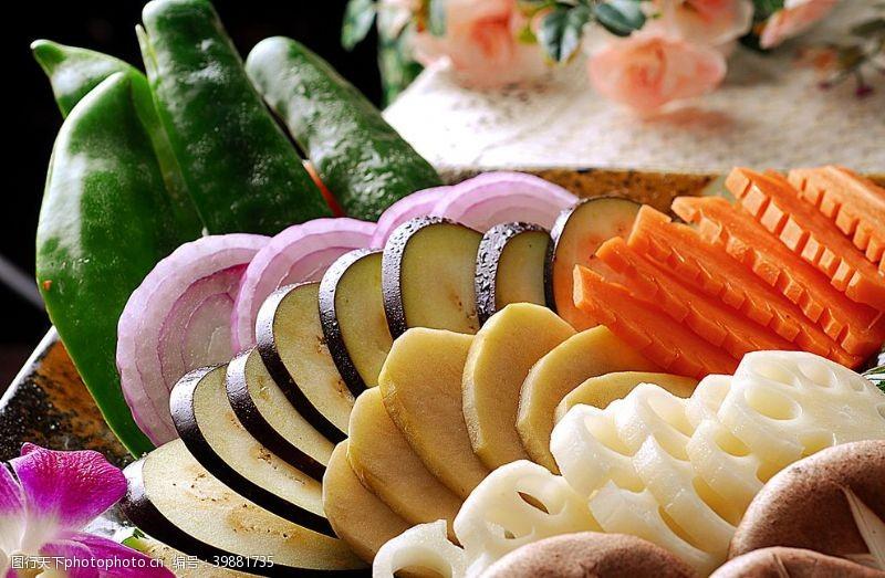 火锅配菜蔬菜时令蔬菜图片