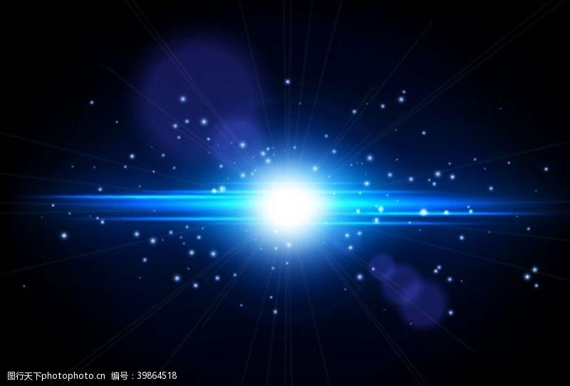 抽象背景矢量粒子光效背景图片