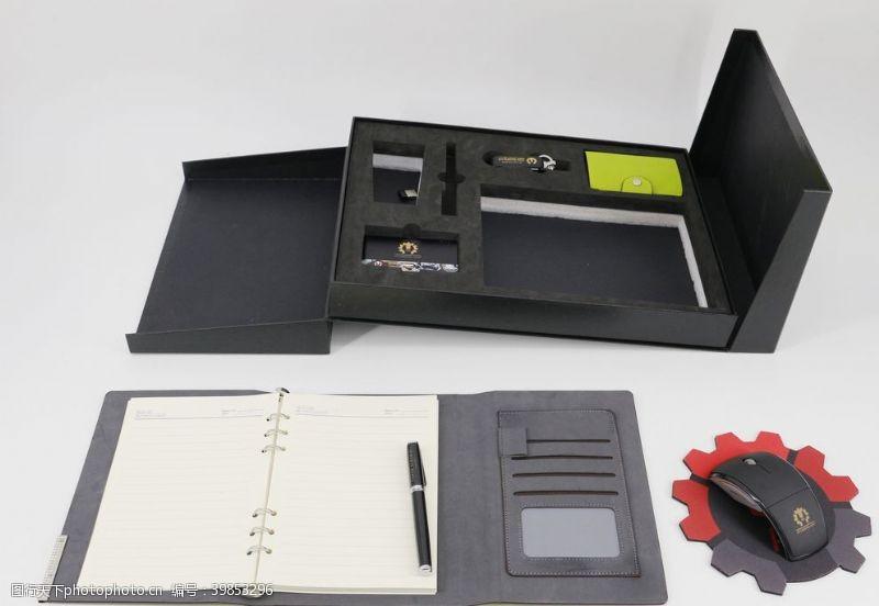 商务礼品笔记本套装图片