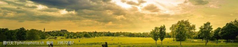 草地山林图片