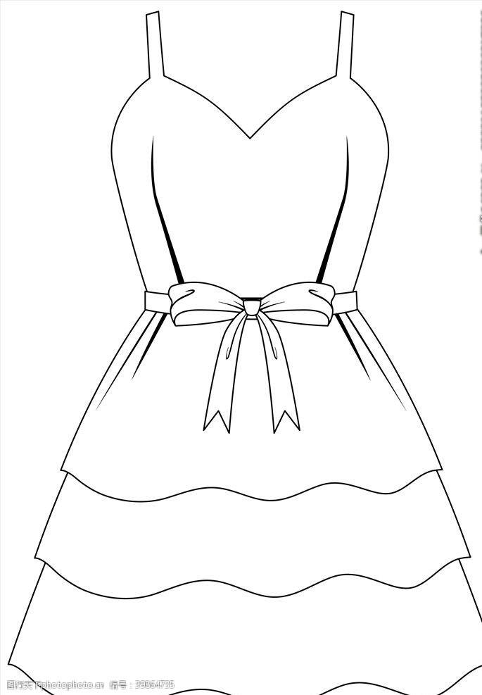 针织衫矢量女装图片