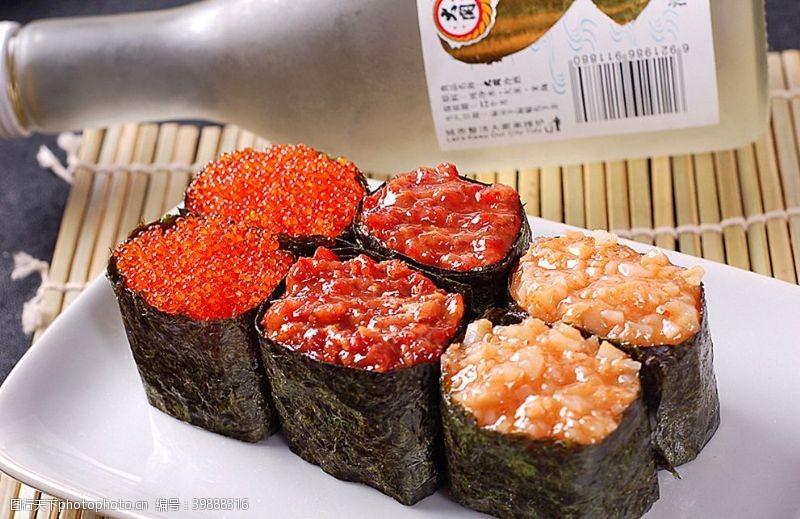 寿司类军舰寿司综合图片