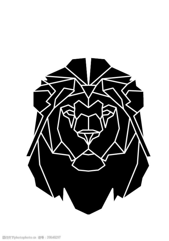 icon线条老虎图片