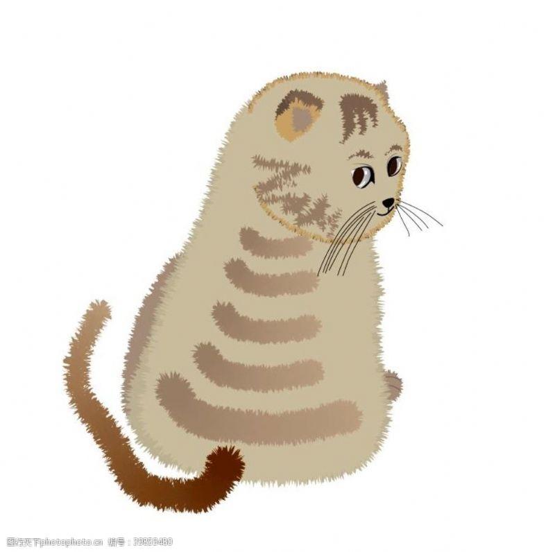 动漫动画小猫图片