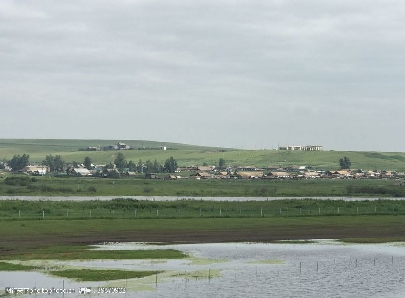 边境小镇图片