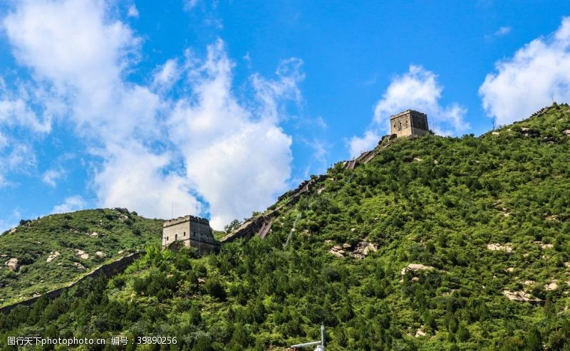 城墙长城景观图片