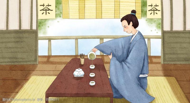 中国传统茶文化图片