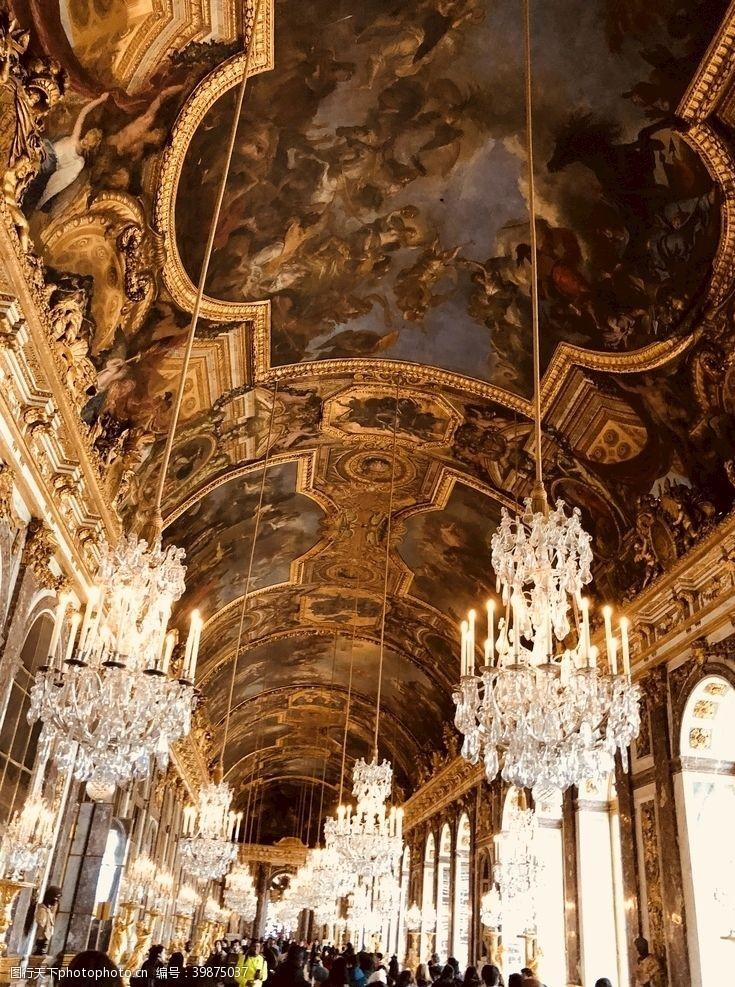 宫廷法国凡尔赛宫图片