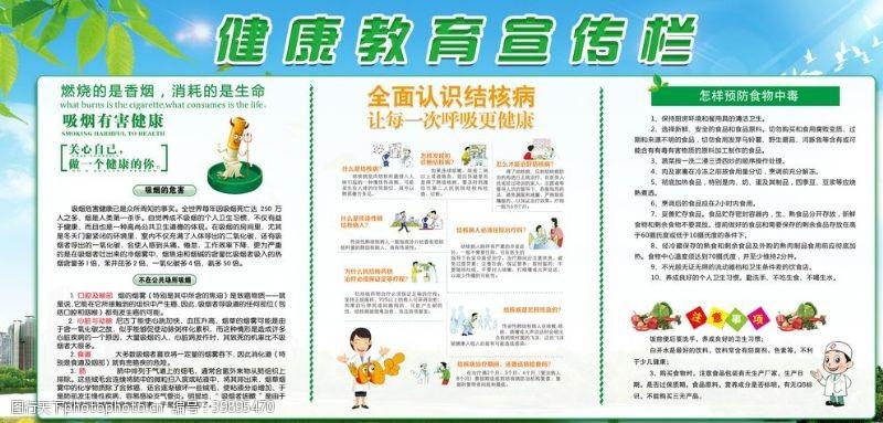 健康教育知识宣传栏图片