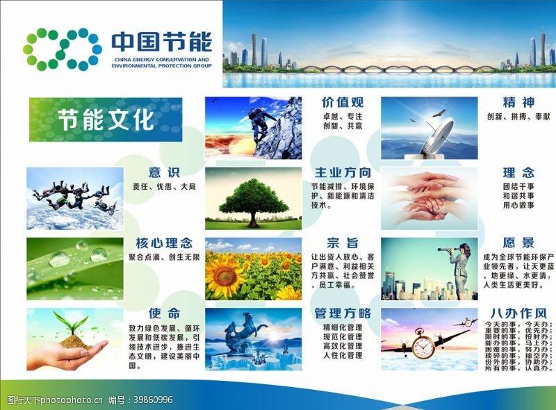 cdr节能文化图片