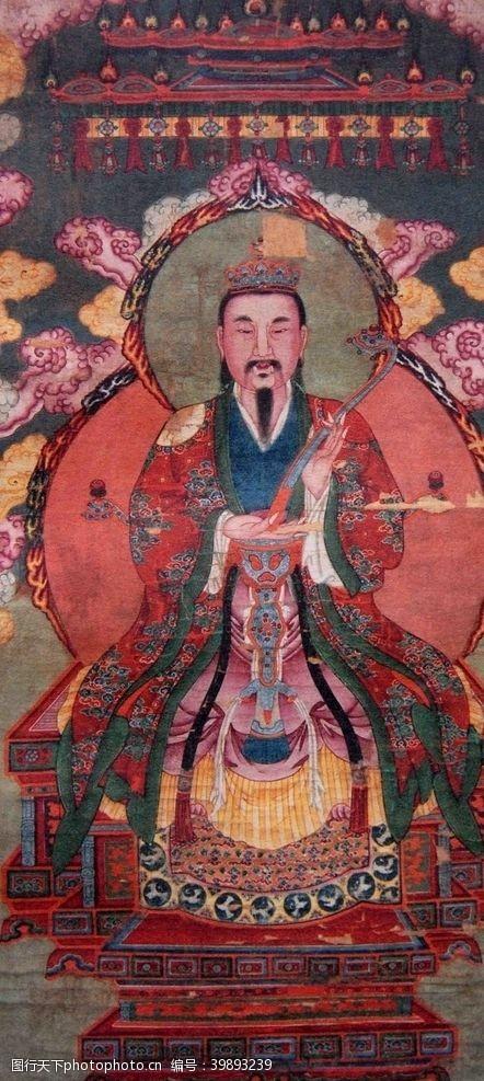 中国传统文化雷祖图片