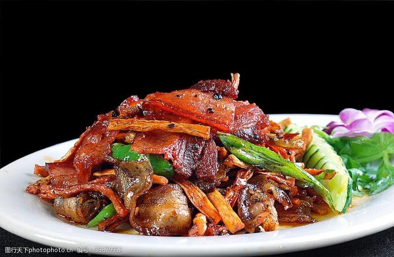 萝卜回锅肉图片