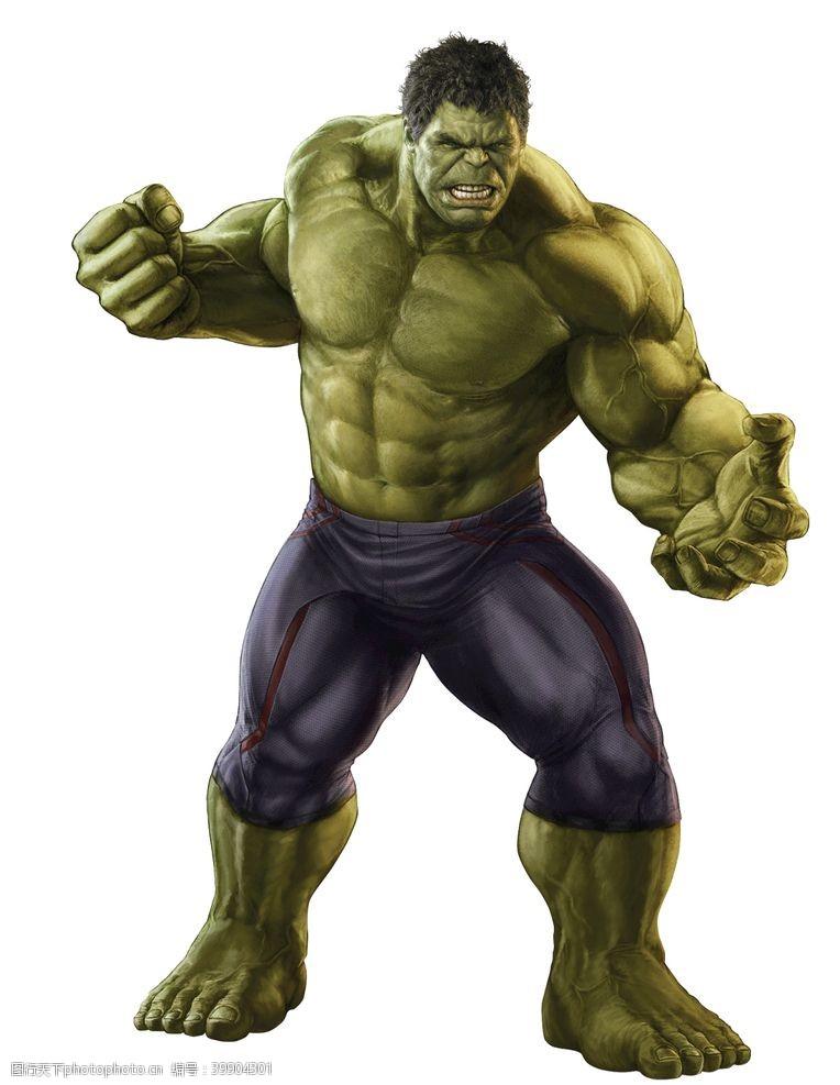 明星偶像漫威英雄绿巨人图片