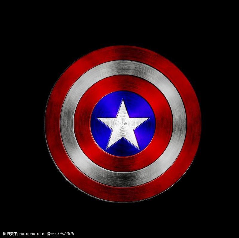 美国队长盾牌图片