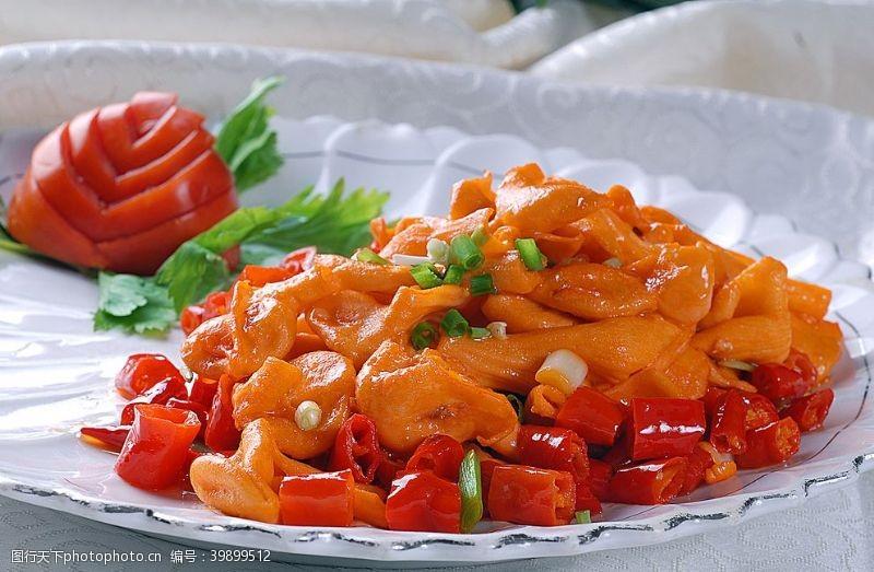 闽菜红火爽口肉图片