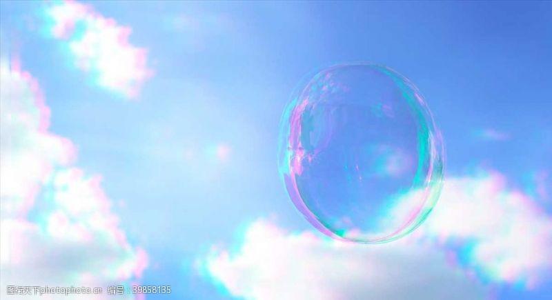 现代背景泡沫图片