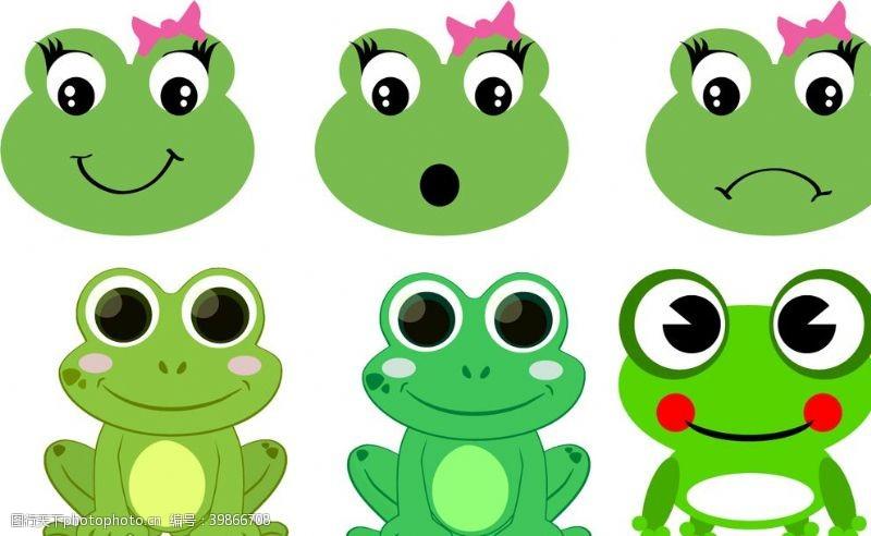 可爱头像青蛙图片