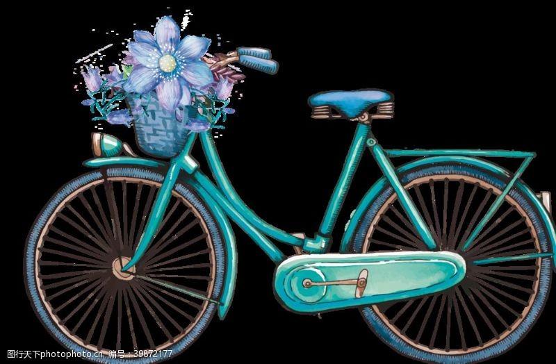 59dpi清新自行车图片