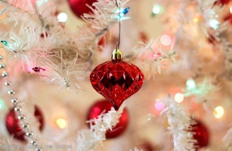 庆祝圣诞灯光效果图片