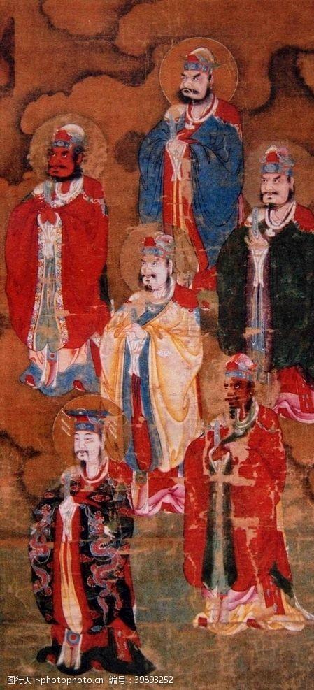中国传统文化神明图片