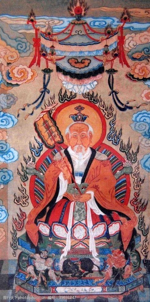 中国传统文化太上老君图片