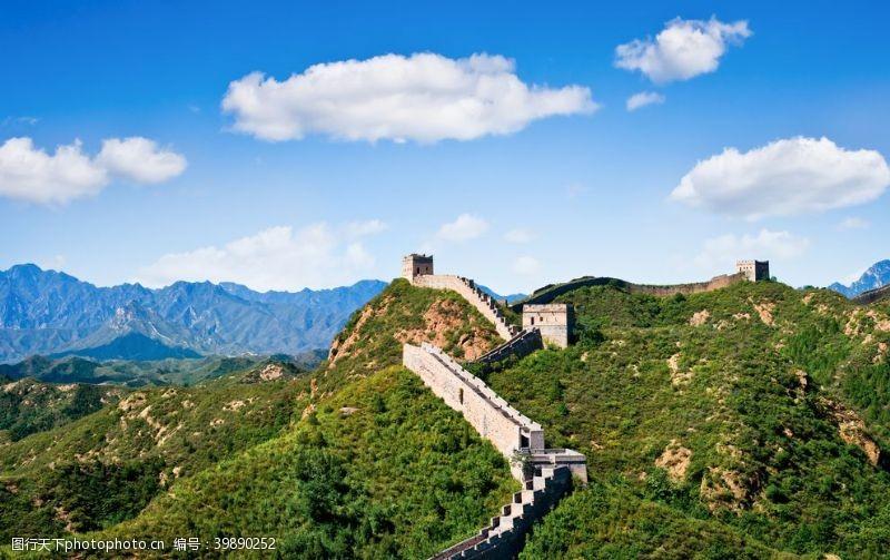 城墙长城蓝天图片