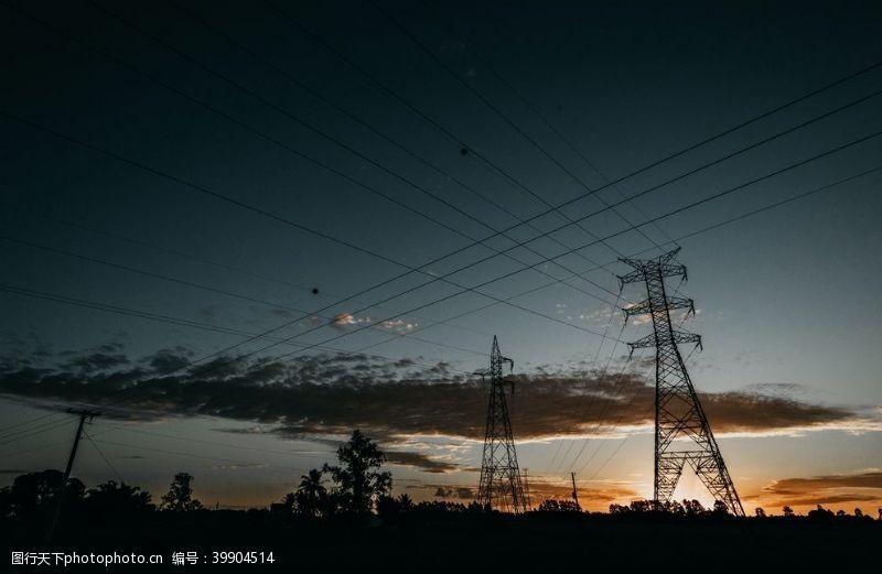 电网塔图片