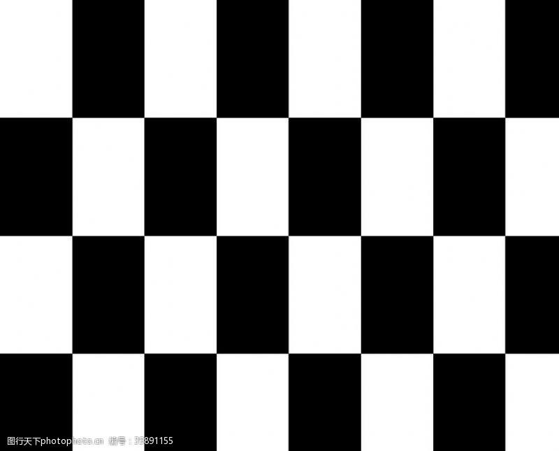 黑白格图片简笔画