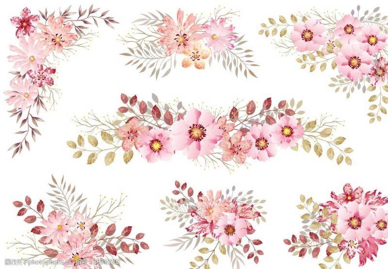 花卉海报花朵背景植物图片