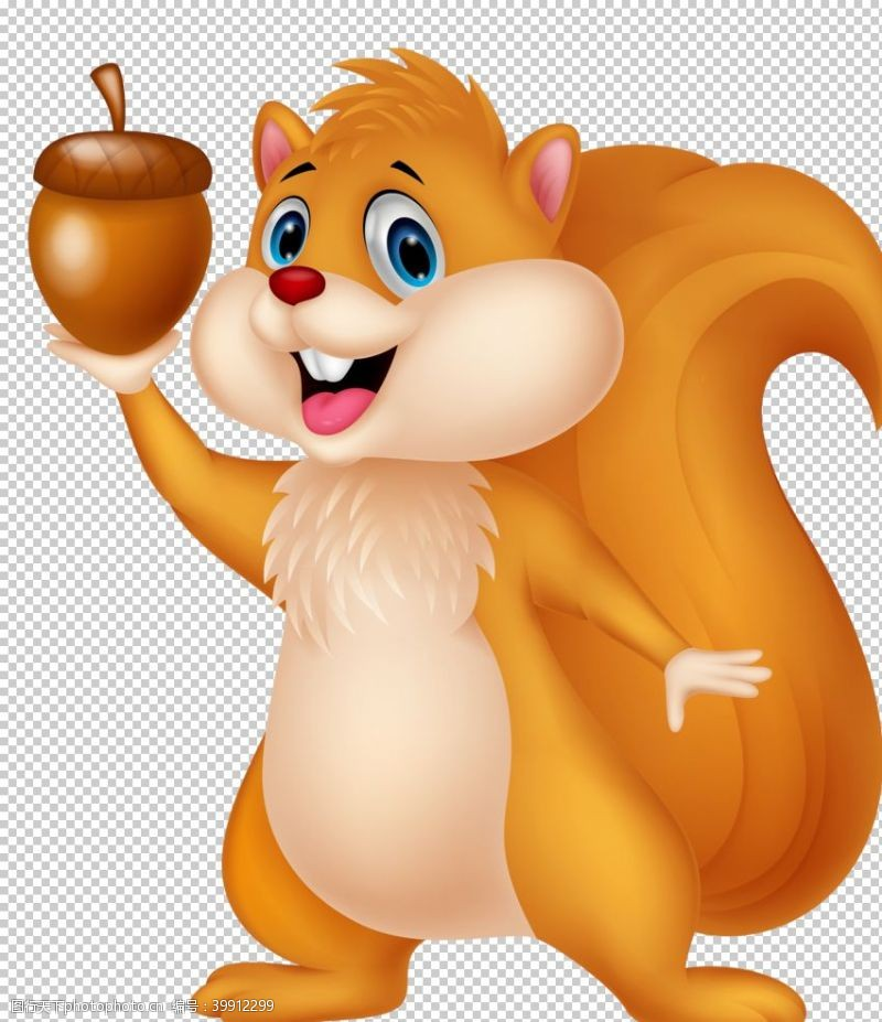 平面广告可爱松鼠图片