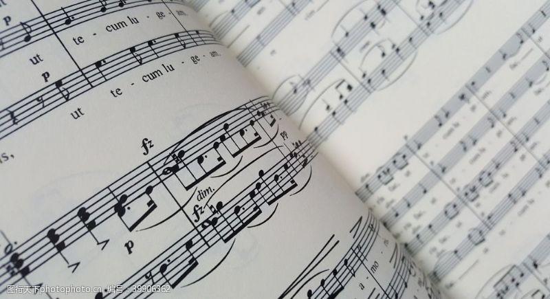 音乐素材乐谱图片