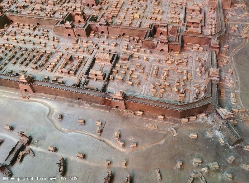 建筑模型沙盘图片