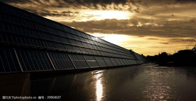 自然风太阳能图片