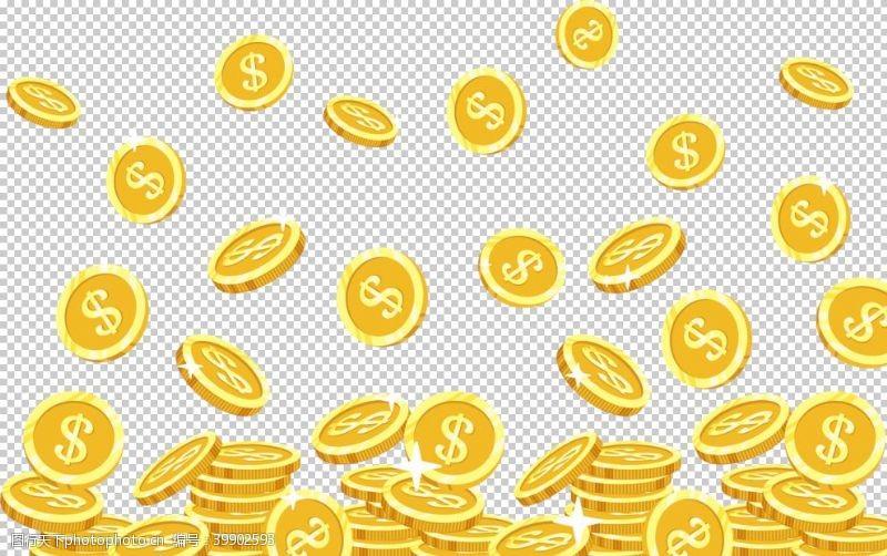 聚宝盆摇钱树图片