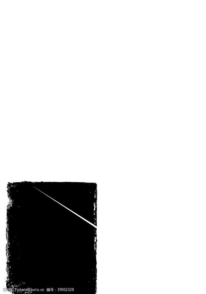 边框相框中国风水墨素材图片