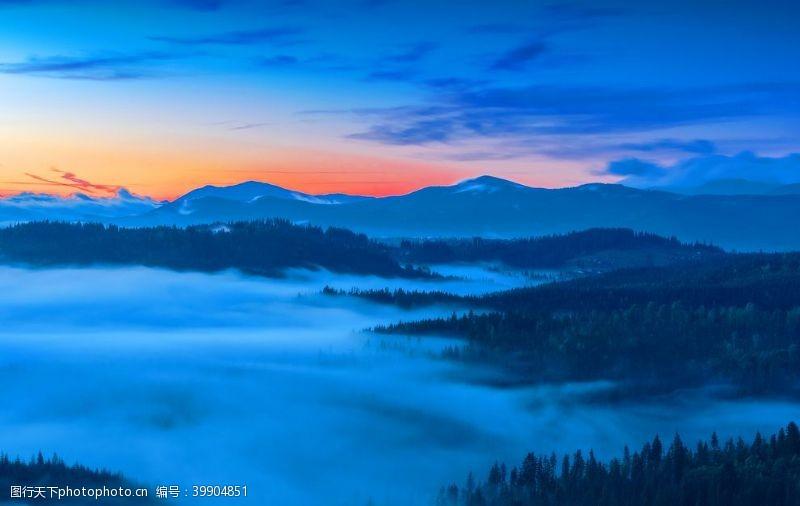 高山自然风景图片