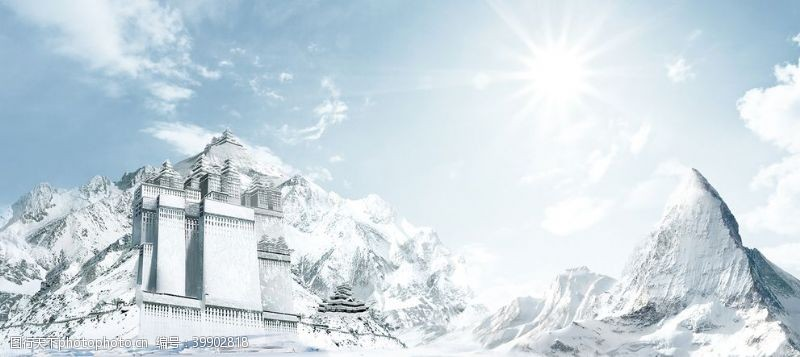 高山冰雪世界图片