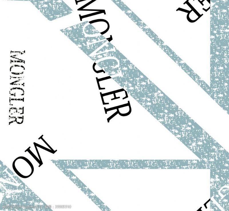 抽象字母图片