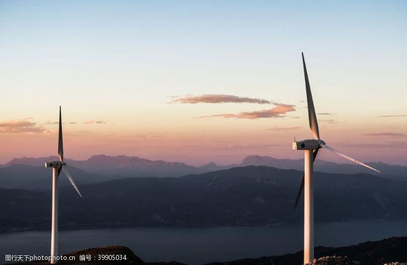 大图风力发电机图片
