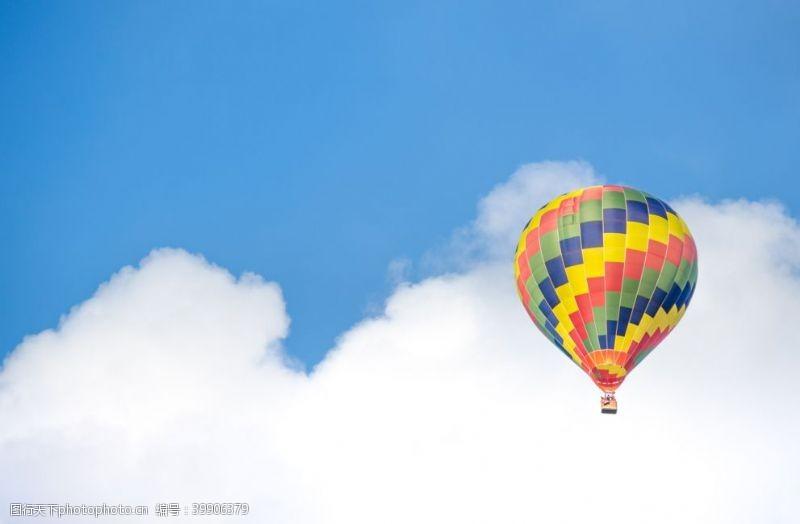 去旅行热气球图片