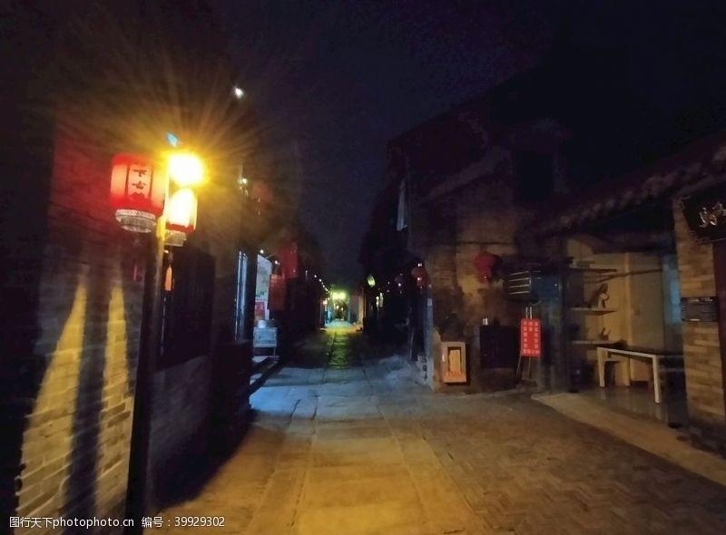 古代古镇老街图片