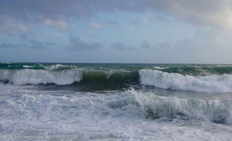 青山海水图片