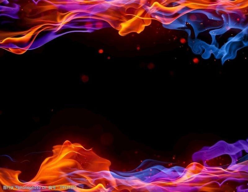 火焰氛围素材图片