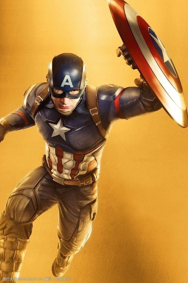 明星偶像漫威超级英雄美国队长美队图片