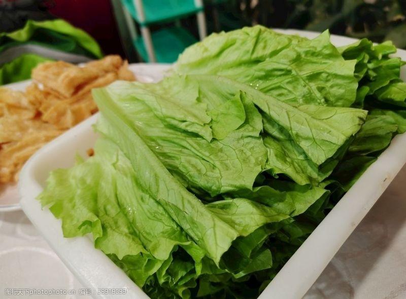 唛生菜图片