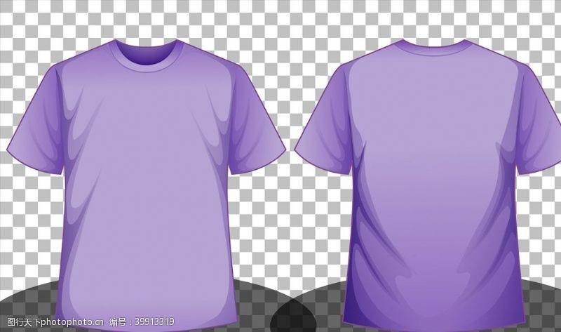 正反矢量T恤衫图片