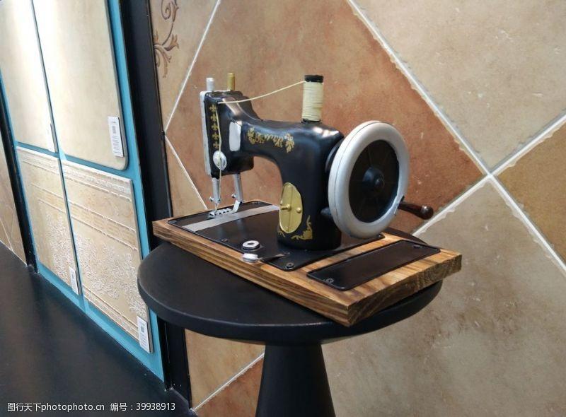 古董缝衣机图片