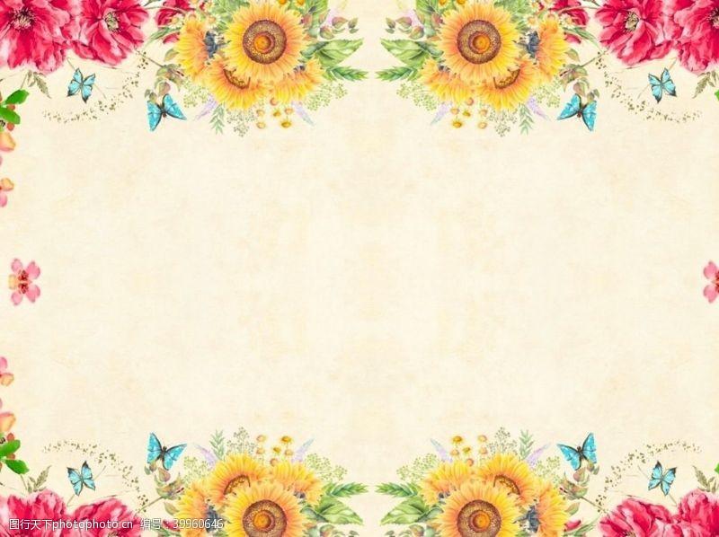 植物边框花朵边框图片